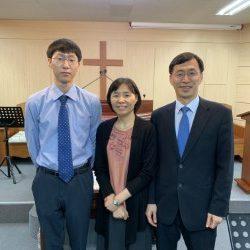 Pastor Kim, Associate pastor, in leadership of YBC